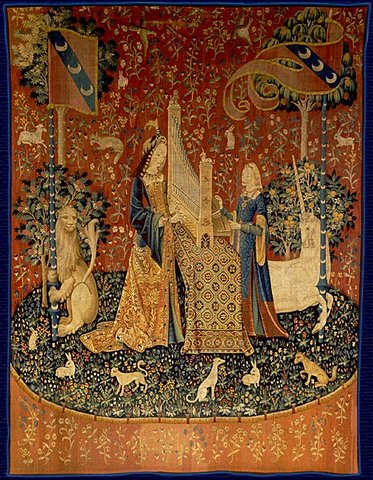 Cluny museum :-The Lady and the unicorn