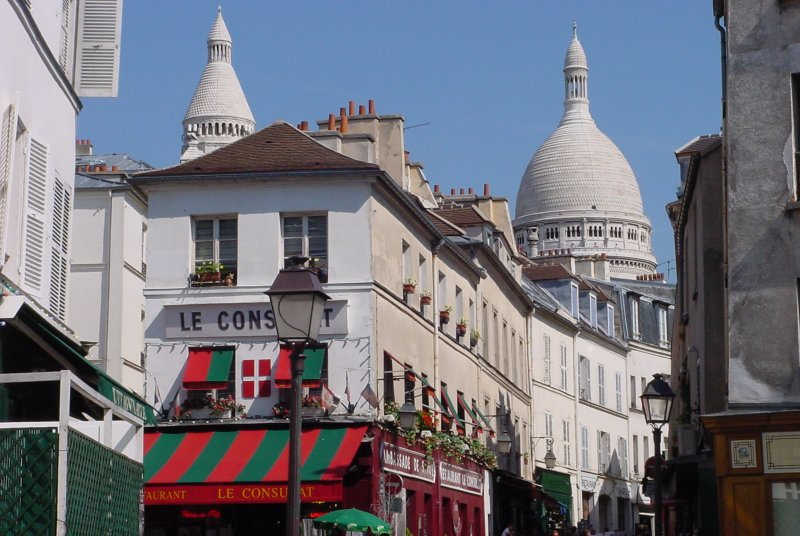 Montmartre and the Sacre-Coeur basilica walking tour