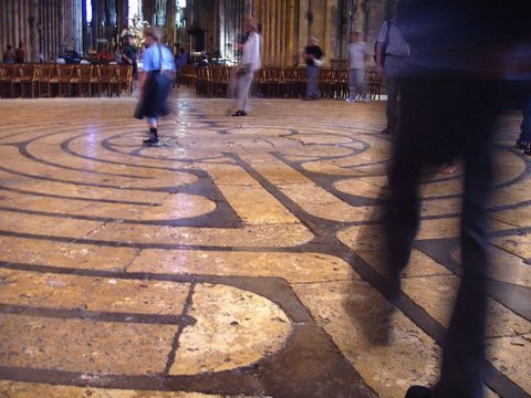 Chartres : labyrinth