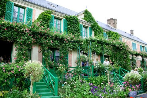 Giverny : maison de Claude Monet