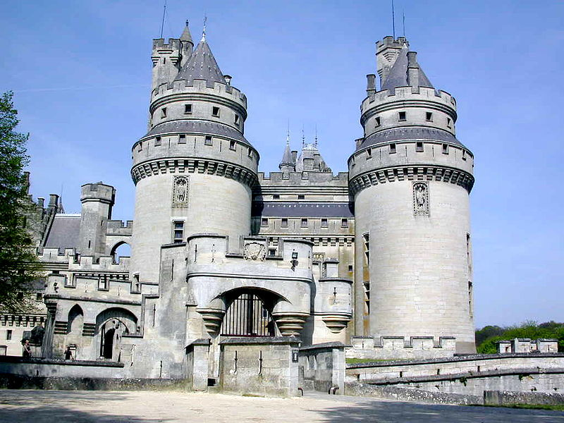 Compiègne and Pierrefonds castles including Rethondes