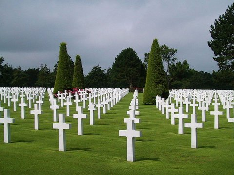 Normandy D-Day : american cemetery