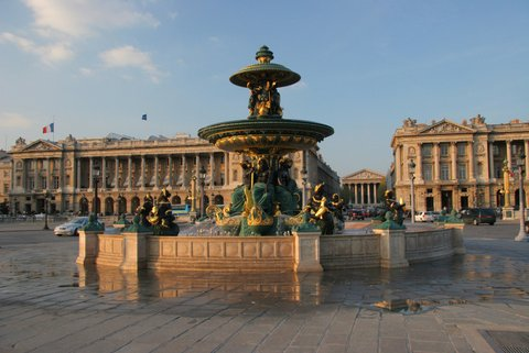 Paris : place de la concorde