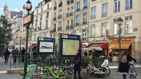 Paris : marais juif