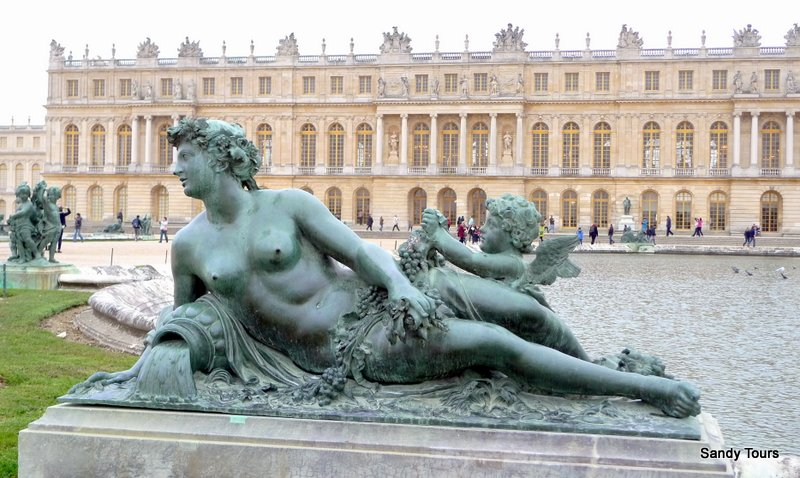 Versailles : official guide half-day disposal