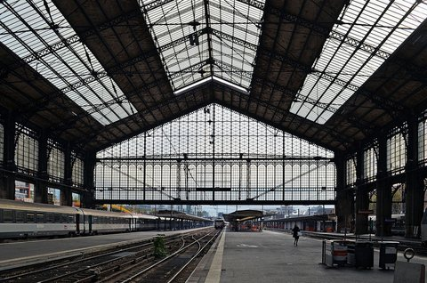 Paris : Austerlitz station
