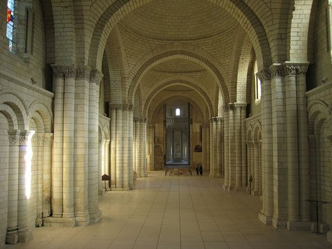 Loire : Fontevraud abbey